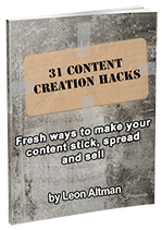 31 Content Creation Hacks eCover